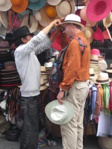 """Panama"" hats are really made in Ecuador."